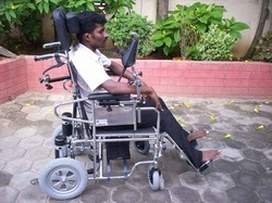 Chin Drive Wheelchair Motorised