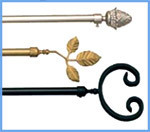 Metal Curtain Rods