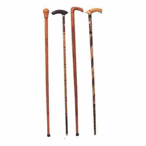 Brown Transworld Wooden Walking Sticks Transworld Trading Inc Id