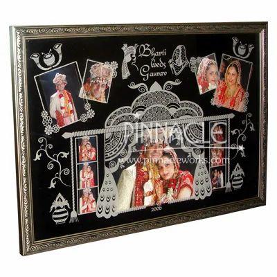 Wedding Photo Collage Embossed Frame Picture Frame Photo Frame Border À¤« À¤Ÿ À¤« À¤° À¤® In Gurgaon Haryana Gurgaon Pinnacle Id 1774476712