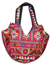 Assorted Cotton Handmade Patchwork Bags