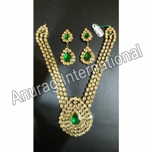 Anurag International Emerald Necklace Sets