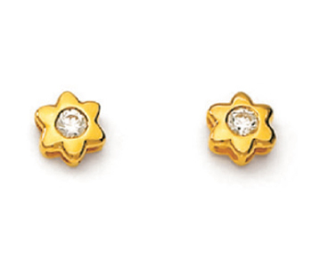 c15e5bc8bbb22 Ag Real Diamond Two Stone Fancy Star Shape Earring Agse0022