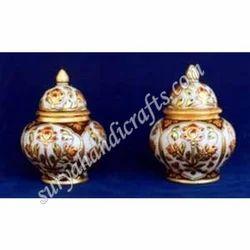 Marble Meena Burni Jar