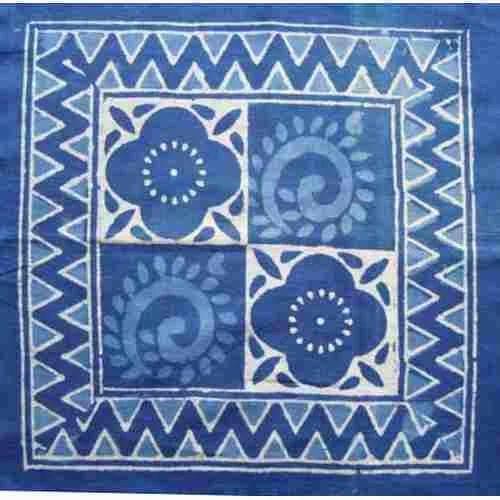 Indigo Hand Block Print Design Fabric At Rs 130 Meter Hand Block