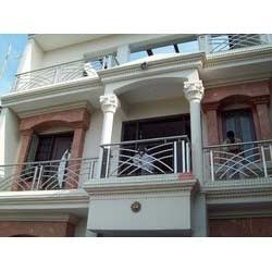 Stainless Steel Frount Balcony Railings Jain Fabricators Private