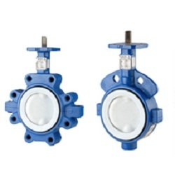 Teflon Lined Butterfly Valves At Best Price In India