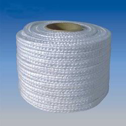 White Glass Fiber Rope, Shape: Round and Square, Diameter: 1-10 mm, Length: 500 mm/reel