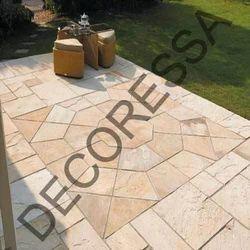 Sandstone Circle Flooring