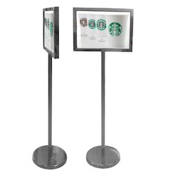 Stainless Steel Stand Signage