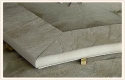 Offwhite Pool Copings Stone, Thickness: 16 mm