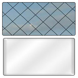 Fire Rated Clear & Wired Glass