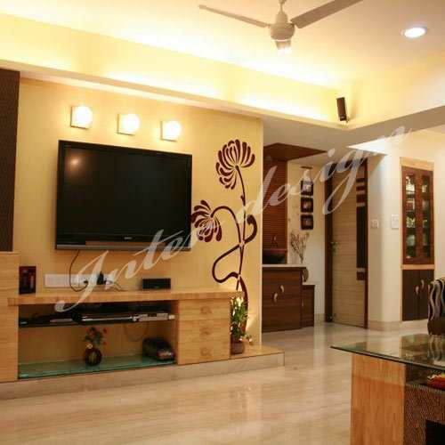 Interior Design Hall And Kitchen: Living Room Interior Design Services In Andheri, Mumbai