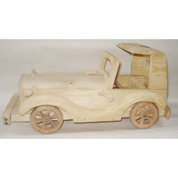 Wooden British Era Car