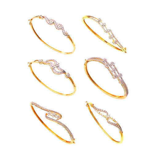 Ladies Gold Bangles Fancy Gold Bangles Manufacturer From