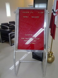 Velvet Cloth Surface DSS Welcome Lobby Boards, Board Size (Inches): 24, Magnetic: No