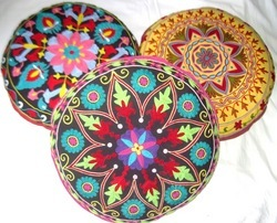 Handmade Suzani Floor Pillows