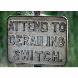 Derailing Switches