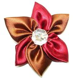 Refratex iNdia Silver Ribbon Flower, Packaging Size: Medium