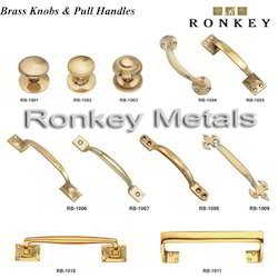 Brass Knobs & Pull Handles