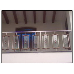 Stainless Steel Railing - SS Outdoor Balcony Railings ...