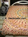 Hand Embroidered Bedspreads In Bohemian Style