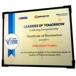 Indiamart Nomination Certificate