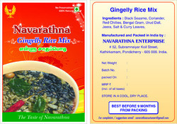 Gingelly Rice Mix