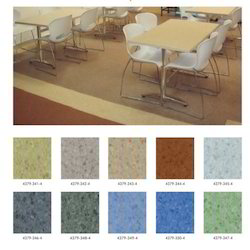 Heterogeneous- Zeta Spectra Floor Covering