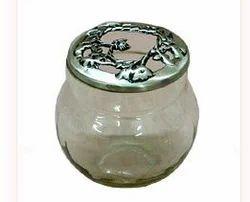 Glass Pot Pourri Bowl