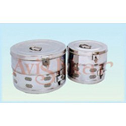 Dressing Drums (Shallow Sterilizer)