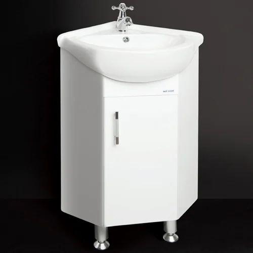 Bathroom Cabinets Kolkata pvc vanity cabinet (corner) mo 4808 - megamart vyapaar private