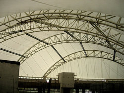 Exhibition Hanger Cover Roofing Structures