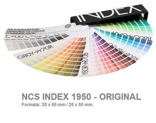 Ncs Index Shade Card Color Chart Colour Catalogue Colour Chart