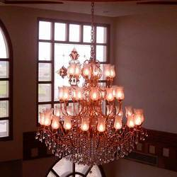 Lighting Brass Chandelier