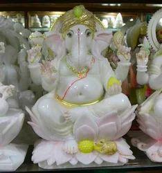 GA-4069 Marble Ganesh Sculptures