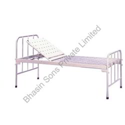 Plain Bed with Backrest