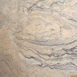 Polished Praga Golden Granite Slab, For Flooring and Countertops, Thickness: 20-25 mm
