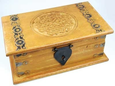 Carved Wooden Boxes Wood Treasure Chest Exporter From
