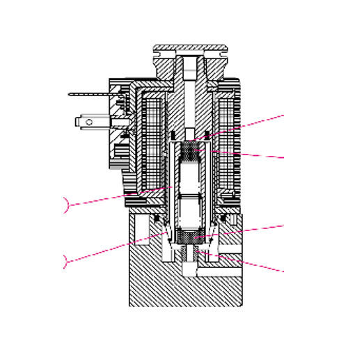 system 13 solenoid coils, armature assemblies, valve systems