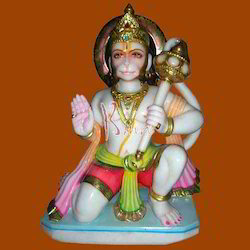 Lord Marble Hanuman Statue
