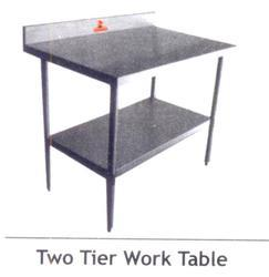 Two Tier Work Table