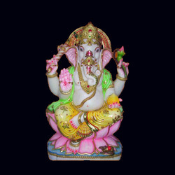GA-4053 Marble Lord Ganesha