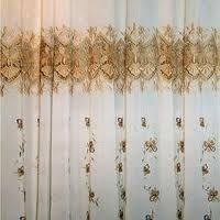 Embroidered Home Furnishings Curtains