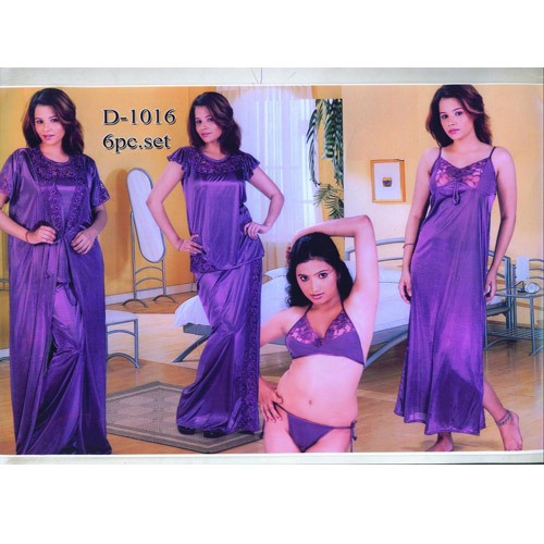 3dd71f972bb 6 PCS. Set Bridal Nightwear