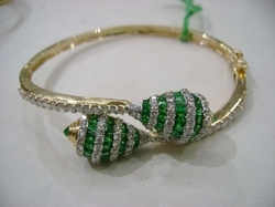 Gemstone Studded Bracelet