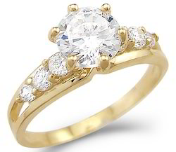 Real Solitaire Wedding Diamond