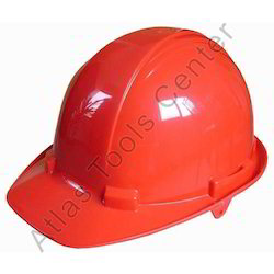 Atlas PVC Red Safety Helmet, For Industrial