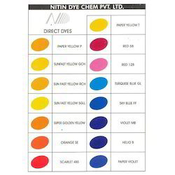Paper Direct Dyes