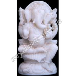 Resin South Ganesha With Plane